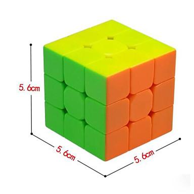 Rubiks kube QI YI 3*3*3 Glatt Hastighetskube Magiske kuber Kubisk Puslespill Gave Klassisk & Tidløs Jente