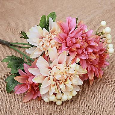 Kunstige blomster 1 Gren Moderne Stil Kurvplante Bordblomst