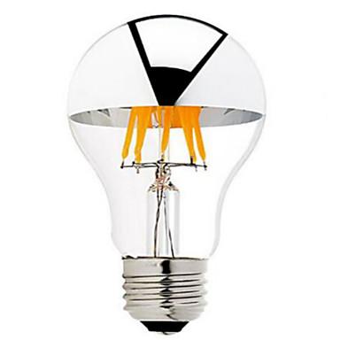 ONDENN 1pc 5 W 500-550 lm B22 / E26 / E27 LED-glødepærer G60 6 LED perler COB Mulighet for demping Varm hvit 220-240 V / 110-130 V / 1 stk. / RoHs