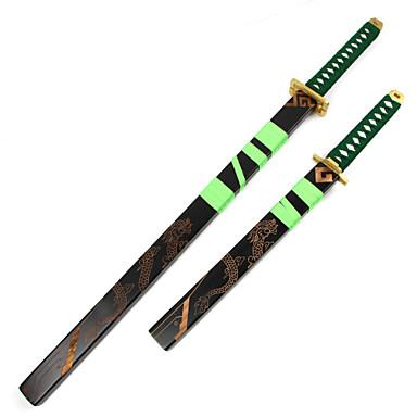 Zbraň Meč Inspirovaný One Piece Roronoa Zoro Anime Cosplay Doplňky Zbraň Dřevo Pánské