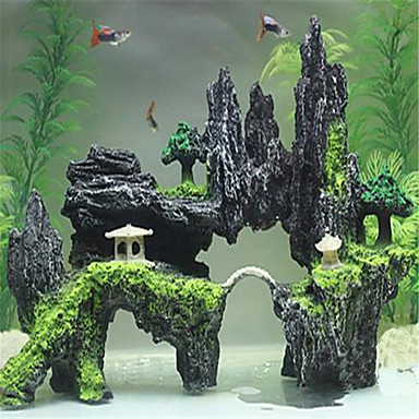povoljno Akvarij i oprema za ribice-Akvarij Akvarij Dekoracija Natrag na red / Ukrasi Netoksično i bezukusno Smola