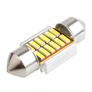 ZIQIAO 2pcs سيارة لمبات الضوء أضواء الداخلية For عالمي