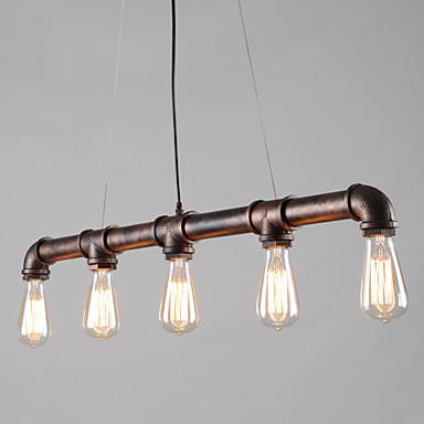 OYLYW 5-luz Luzes Pingente Luz Ambiente - Estilo Mini, 110-120V / 220-240V Lâmpada Não Incluída / 15-20㎡ / E26 / E27