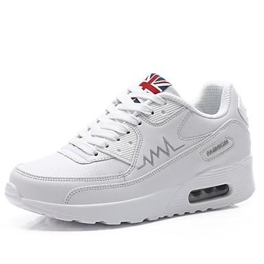 Mujer Zapatos Tul Primavera / Verano / Otoño Confort Zapatillas de Atletismo Running Blanco / Negro / Rojo