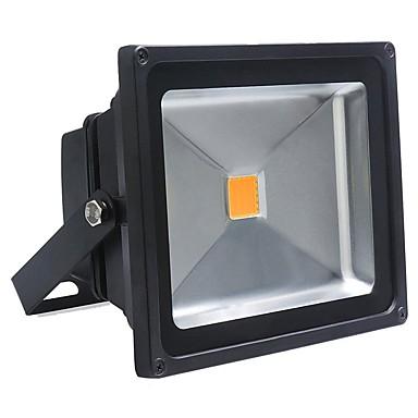 abordables Éclairage Extérieur-50w LED cool blanc chaud lampe de projection de lumière d'inondation extérieure Projecteur étanche éclairage public (85-265V)