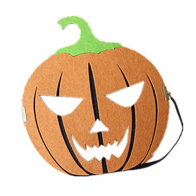 voordelige Maskers voor de feestdagen-Halloweenmaskers Pompoen Creatief Cool Leder Pluche Volwassenen Speeltjes Geschenk 1 pcs