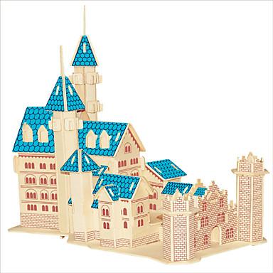 voordelige 3D-puzzels-Houten puzzels Houten modellen Kasteel Beroemd gebouw Chinese architectuur professioneel niveau Puinen 1 pcs Kinderen Volwassenen Jongens Meisjes Speeltjes Geschenk