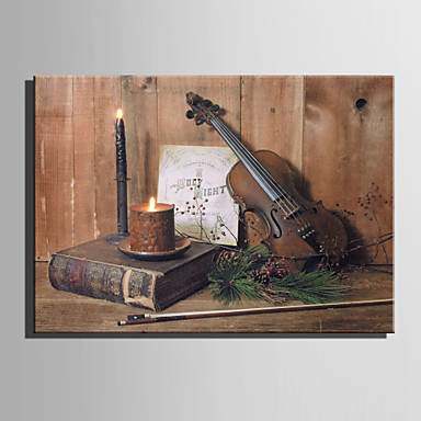 مناظر طبيعية حياة هادئة الحديث الطراز الأوروبي, لوحة واحدة كنفا أفقي الطباعة جدار ديكور تصميم ديكور المنزل
