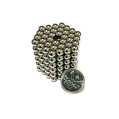 216 pcs 7mm Brinquedos Magnéticos Bolas Magnéticas / Blocos de Construir / Cubo de quebra-cabeça Imã Crianças Dom