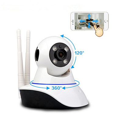 smarthus mobil ekstern hd monitor trådløs WIF dobbel antenne i overvåkingskamera