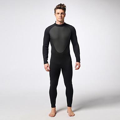 MYLEDI Homens 3mm Macacão de Mergulho Longo Prova-de-Água Térmico/Quente Vestível Fecho YKK Neoprene Fato de Mergulho Roupas de Mergulho-