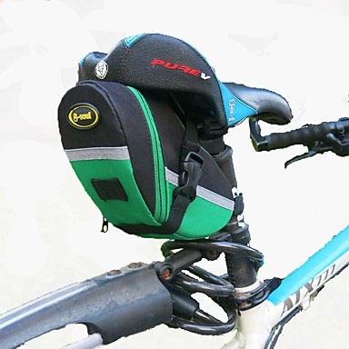 Other حقيبة السراج للدراجة يمكن ارتداؤها حقيبة الدراجة كنفا / أكسفورد حقيبة الدراجة حقيبة الدراجة أخضر / الدراجة