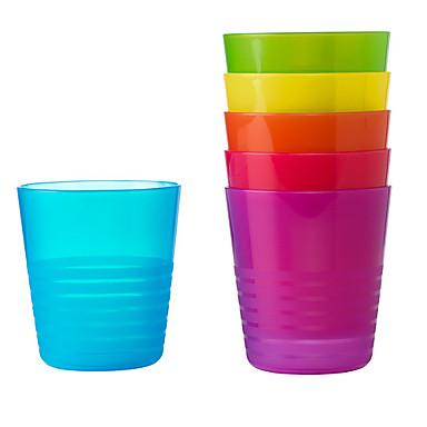 DRINKWARE البلاستيك أكواب الشاي المحمول / كارتون / تصميم مريح 1 pcs