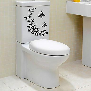 تجريدي كارتون ملصقات الحائط لواصق حائط الطائرة لواصق حائط مزخرفة لواصق المرحاض, ورقة تصميم ديكور المنزل جدار مائي جدار مرحاض