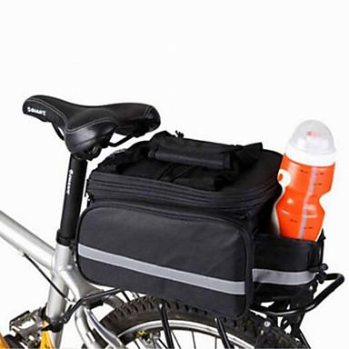 hesapli Bisiklet Çantaları-WEST BIKING® 20 L Bisiklet Arka Çantaları / Bisiklet Tekerleği Sepetleri Bisiklet Arka Çantaları Çok Fonksiyonlu Ayarlanabilir Büyük Kapasite Bisiklet Çantası Naylon Bisikletçi Çantası Bisiklet