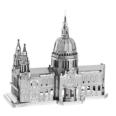 preiswerte 3D - Puzzle-3D - Puzzle Holzpuzzle Metallpuzzle Modellbausätze Berühmte Gebäude Kirche Dom Kreativ Heimwerken Cool Klassisch & Zeitlos Schick &