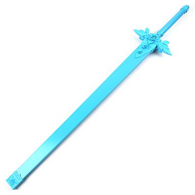 무기 검 에서 영감을 받다 Sword Art Online 코스프레 에니메이션 코스프레 악세서리 무기 나무 남성