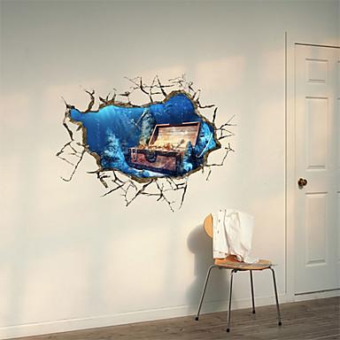 Dekorative Mur Klistermærker - 3D Mur Klistremerker Still Life / 3D Stue / Spisestue / Leserom / Kontor