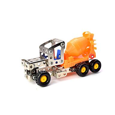 Betongblander Leketrucker og byggebiler Lekebiler Metallpuslespill kjøretøy Leke 1:12 Originale Metallisk Plast Gutt Barne Leketøy Gave