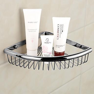 Hylle til badeværelset Moderne Messing 1 stk - Hotell bad