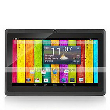 M750D3 7 tommer (ca. 18cm) Android tablet ( Android 4.4 1024 x 600 Kvadro-Kjerne 512MB+8GB )
