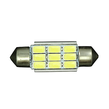 billige Interiørlamper til bil-SO.K 10pcs T11 Bil Elpærer 4 W SMD 5730 320 lm LED interiør Lights Til