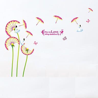 Dekorative Mur Klistermærker - Fly vægklistermærker Dyr / Blomster / Botanisk Stue / Soverom / Baderom
