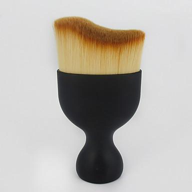 1pcs Makeupborstar Professionell Rougeborste / Foundationborste / Konturborste Syntetiskt Hår Bärbar / Resan / Miljövänlig Plast Liten