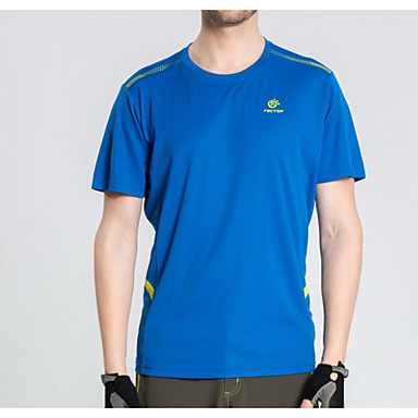 Dame Unisex T-skjorte til turbruk Fort Tørring Topper til Fritidssport Sommer M L XL