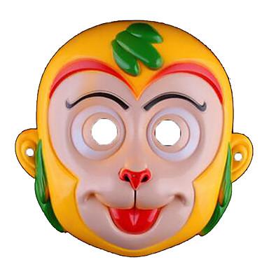 voordelige Maskers voor de feestdagen-Halloweenmaskers Dierenmasker PVC Cartoon Aap Horrorthema Kinderen Volwassenen Unisex