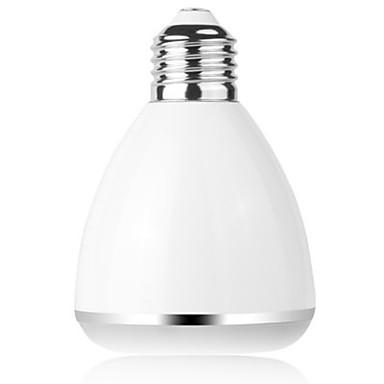bl08a smart bluetooth 4.0 musikk høyttaler lampe ledet pære e27 intelligent lys ferie fest dekorasjon gave