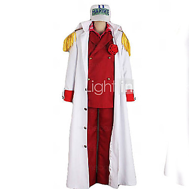 Inspiriert von Cosplay Cosplay Anime Cosplay Kostüme Cosplay Kostüme Patchwork Mantel Hemd Hosen Umhang Für Herrn