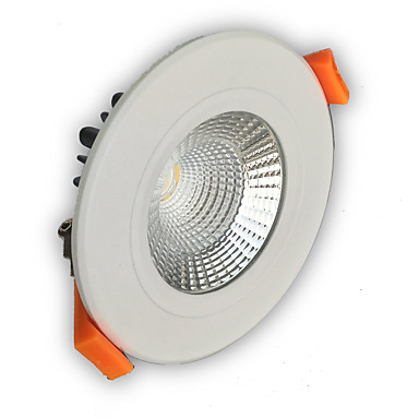 400-450 lm LED Downlights Recessed Retrofit leds COB Dimmable Warm White Cold White AC 110-130V AC 220-240V