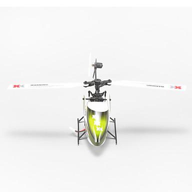 Radiostyrt Helikopter WL Toys K100-B 6ch 6 Akse 2.4G Børsteløs Elektrisk - BNF aerobatics Fjernkontroll Flybarless