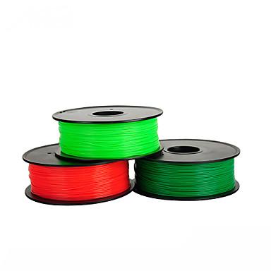 pla abastece 0,5 kg de suprimentos de impressão 3D para prototipagem rápida de alta qualidade anet seda impressa 5 cores opcional