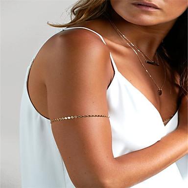 Geométrica Cadeia corpo / Cadeia de barriga Fashion Mulheres Dourado Bijuteria de Corpo Para Festa / Ocasião Especial / Esportes