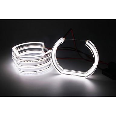 4pçs H10 / 9007 / H7 Lâmpadas SMD 3528 LED luzes exteriores Para BMW E36 / E38 / E39 1999 / 2000 / 2001