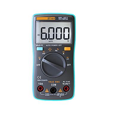 zotek zt101 multímetro digital portátil 6000 contam backlight ac / dc amperímetro voltímetro ohmmetro portátil