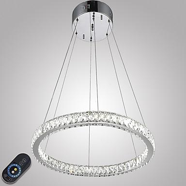 أضواء معلقة ضوء محيط - كريستال, تخفيت, LED, 110-120V / 220-240V وشملت مصدر ضوء LED / 10-15㎡ / LED متكاملة