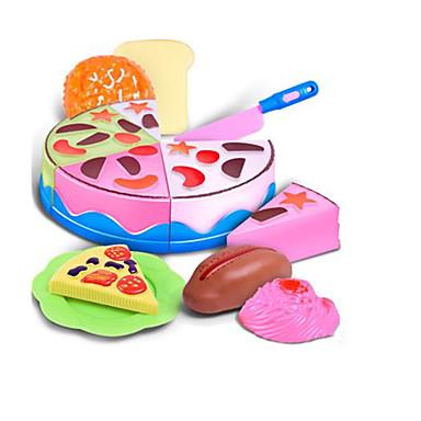 ألعاب الطعام لعب تمثيلي مأكولات كعكة حلوى نابض بالحياة آمن للطفل بلاستيك ABS للأطفال للجنسين صبيان فتيات ألعاب هدية
