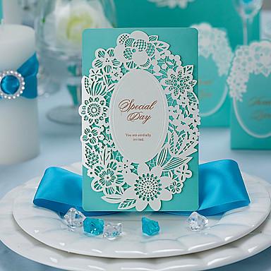 Cartão Raso Convites de casamento Convites para Festas de Noivado Bachelorette Party Cartões Conjuntos de Convites Cartões de convite