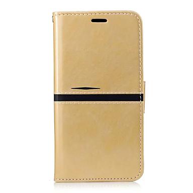 Capinha Para Xiaomi Porta-Cartão Carteira Com Suporte Flip Capa Proteção Completa Côr Sólida Rígida PU Leather para Xiaomi Redmi Note 4