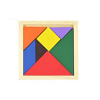 TANGRAM تركيب تركيب خشبي اصنع بنفسك كلاسيكي صبيان فتيات ألعاب هدية