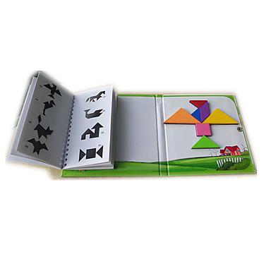 hesapli Oyuncaklar ve Oyunlar-Tangram Legolar Manyetik Çocuklar için Unisex Genç Erkek Genç Kız Oyuncaklar Hediye