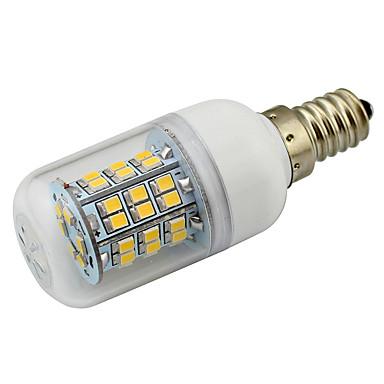 4W 1000-1100lm E12 Lâmpadas Espiga T 48 Contas LED SMD 2835 Decorativa Branco Quente Branco Frio 85-265V