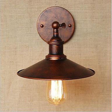 زهري / رجعي مصابيح الحائط معدن إضاءة الحائط 110-120V / 220-240V 40W