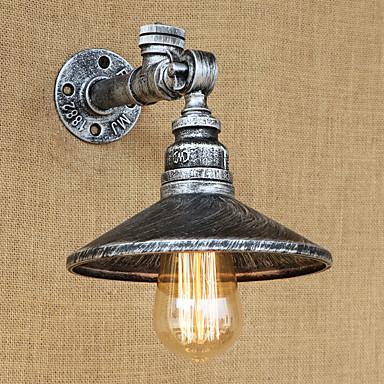 ريفي / بلدي / زهري / رجعي مصابيح الحائط معدن إضاءة الحائط 110-120V / 220-240V 40W