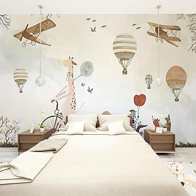 billige Tapet-tegneserie fly tilpasset 3d stor veggdekorasjon veggmaleri tapet passer restaurant soverom kontor barn