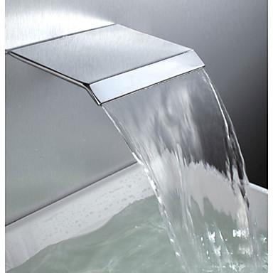 Acessório Faucet - Qualidade superior - Moderna Latão Bico; esquichar - Terminar - Cromado