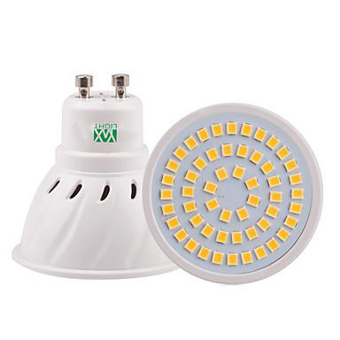 YWXLIGHT® 5W 400-500lm GU10 GU5.3(MR16) E26 / E27 LED ضوء سبوت 54 الخرز LED SMD 2835 ديكور أبيض دافئ أبيض كول أبيض طبيعي 110-220V